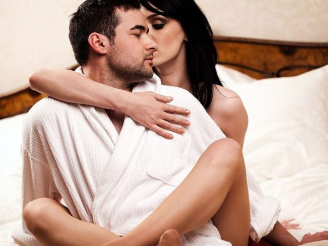 секс после родов выделения